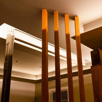 Luz, espacio y definición de formas