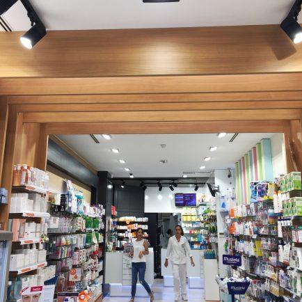 Madera para separar zonas en retail